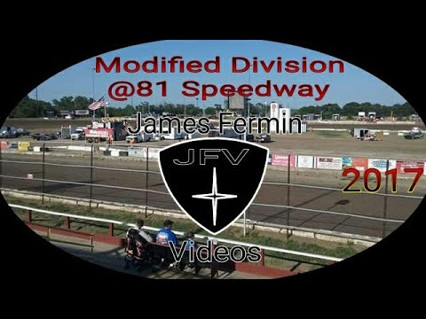 Modifieds #26, Heat, 81 Speedway, 2017