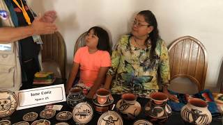 Free Indian Market | Interview - Ione Coriz - Pottery