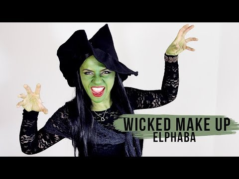 Wicked Witch Make Up - Elphaba Tutorial