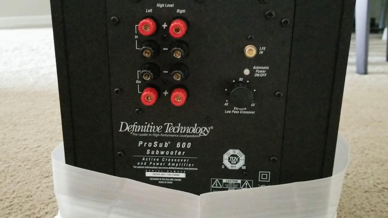 small resolution of definitive technology procinema 600 5 1 unbox