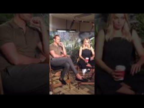 Margot Robbie and Alexander Skarsgard The Legend of Tarzan QvesvesA