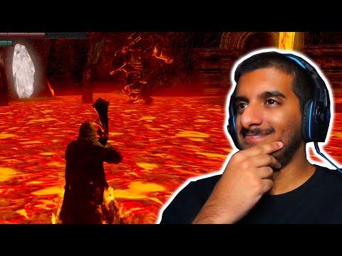 دارك سولز مع المود : العالم البركاني 😍 | Dark Souls Remastered #8 |