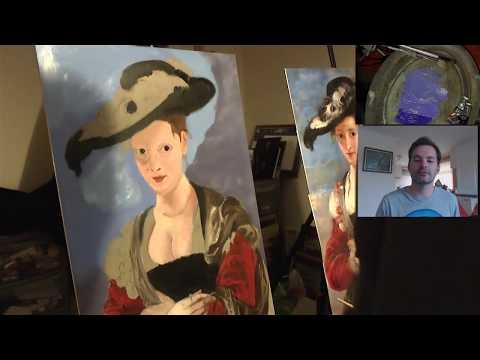 Jason's Diary : Painting a Masterpiece #5 (Rubens Portrait of Susanna Lunden)