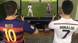 Cristiano Ronaldo vs. Messi -  FIFA 17 Penalty Shootout | In Real Life!