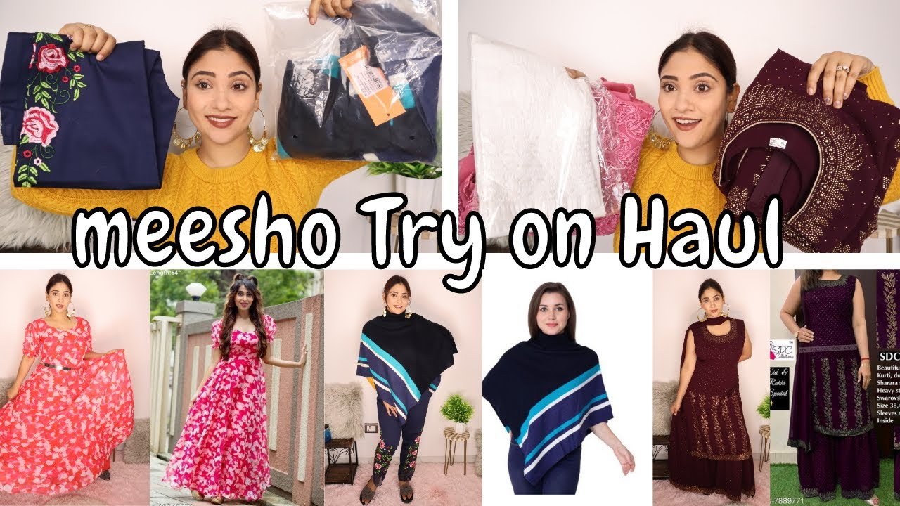 MEESHO TRY ON HAUL || shystyles