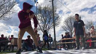 Hip hop in the park Pickering 2018.