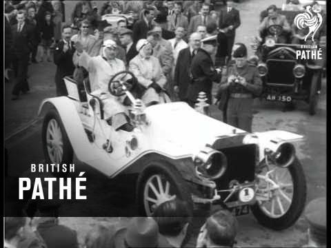 Vintage Cars: U.S. V U.K. (1954)