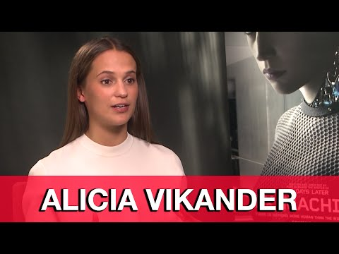 Alicia Vikander Interview - Ex Machina