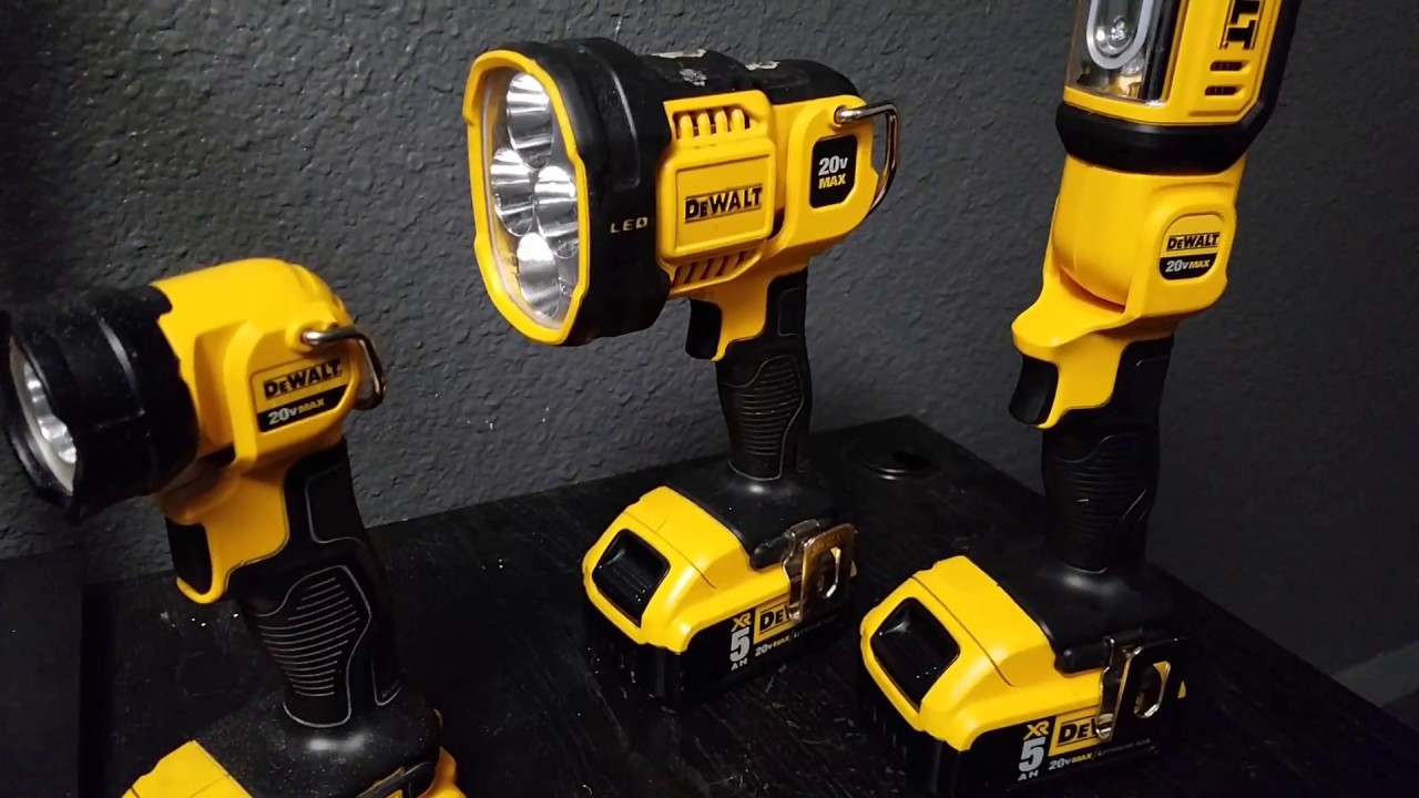 Dewalt 20v Led Dcl040 Light Dcl043 Spot Light