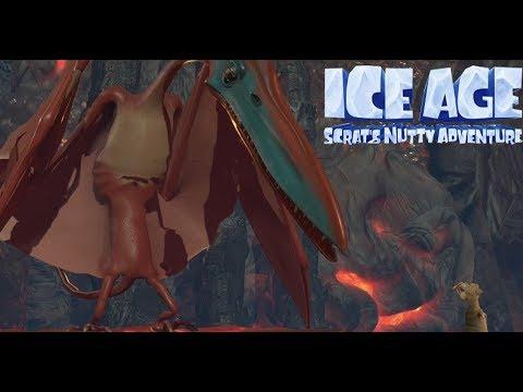 Ice Age Scrat's Nutty Adventure All Boss Fights & Ending (Ice Age Scrat's Nutty Adventure Ending)