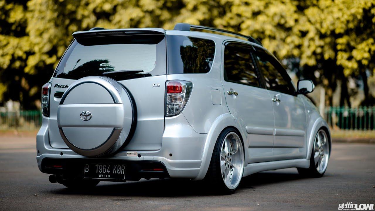 Kumpulan Contoh Modifikasi Velg Toyota RUSH Yang ISTIMIWIR