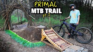 Building the weirdest MTB trail you'll ever see... // Primal Trail pt. 2