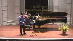 LIVE: Noé Inui & Vassilis Varvaresos in Ysaÿe's Poème Elégiaque