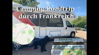 Mit dem Wohnmobil durch Frankreich - unsere mautfreie Strecke & Campingplatz mit Pool