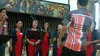 Awit ng Papuri, El Shaddai Holy Cross Parish Music Ministry Chapter cover