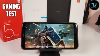 Xiaomi Redmi 5 Plus Gaming test after updates! Android games/Snapdragon 625/Gamepad