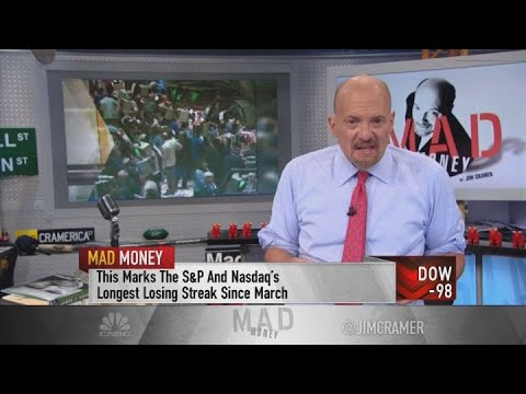 Cramer: How to know when it pays to sell in a sell-off