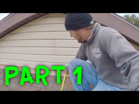 HOW TO INSTALL A METAL ROOF (PART 1)