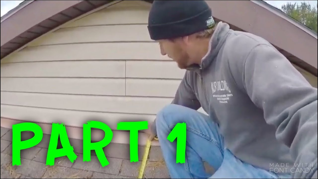 How To Install A Metal Roof Part 1 Youtube