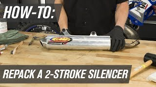 How To Repack a 2-Stroke Motorcycle Silencer