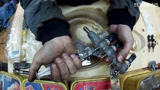 flushing o'z qo'llari bilan gaz injectors brc