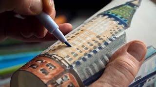 Faber Castell Pitt Artist Pens with Gwyneth Leech