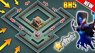 Best Builder Hall 5 (BH5) Base With Defense Replays | BH5 Anti 2 Star Base Layout | Clash of Clans