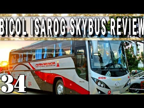 Bicol Isarog SkyBus Review