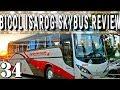 Bicol Isarog SkyBus Review