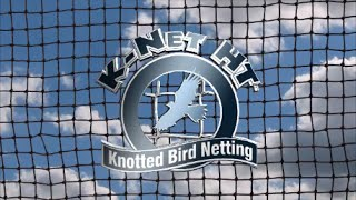 K Net Bird Netting Video