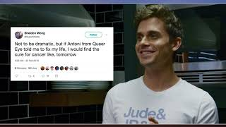 The Internet Is Collectively Thirsting Over Queer Eye Chef Antoni Porowski, Because Just Look at Him thumbnail