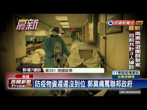 疫情告急! 紐約州長授權強制徵收呼吸器-民視新聞