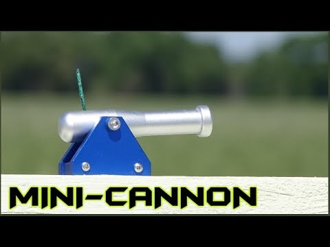 Miniature Black Powder Cannon - Extreme Testing - YouTube