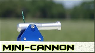 Miniature Black Powder Cannon - Extreme Testing