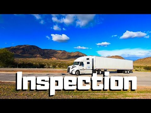 Trucking Is NOT EASY! DOT Weigh Station Inspection GONE WRONG! Visiting GOLD MINE In Arizona | VOLVO