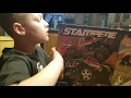 Traxxas Stampede VS Slash 4x4 racing and unboxing
