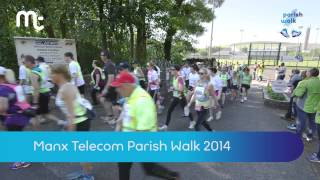 Spot yourself in the Manx Telecom Parish Walk 2014!