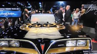 2016 Barrett Jackson Auction 1977 Bandit Promo Trans Am
