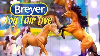 Toy Fair 2018 Breyer FIRST LOOK! New figures, Spirit Riding Free, New Classics, Collecta & More