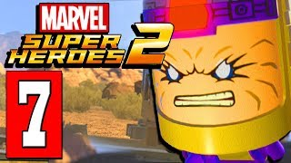 LEGO Marvel Super Heroes 2 Walkthrough Part 7 MODOK BOSS / TRAIN JOURNEY