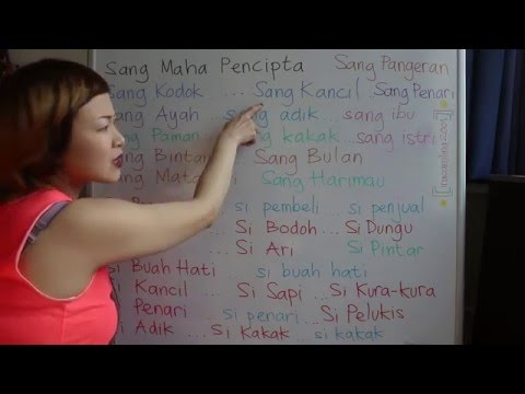 LEARN DUTCH/ NETHERLANDS & INDONESIAN/ BAHASA INDONESIA [IN ENGLISH] #42 THE 2.0