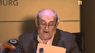 Former ANC Rivonia Trialist, Denis Goldberg speaks during Israeli Apartheid Week