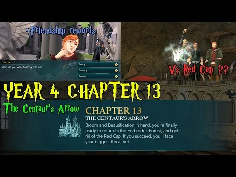 Harry Potter Hogwarts Mystery Year 4 Chapter 13 The Centaur's Arrow Gameplay