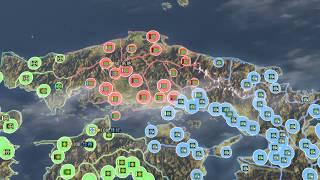 第74回 総攻撃 頑強に抵抗する羽柴軍。四国からは駆逐したものの、東で...