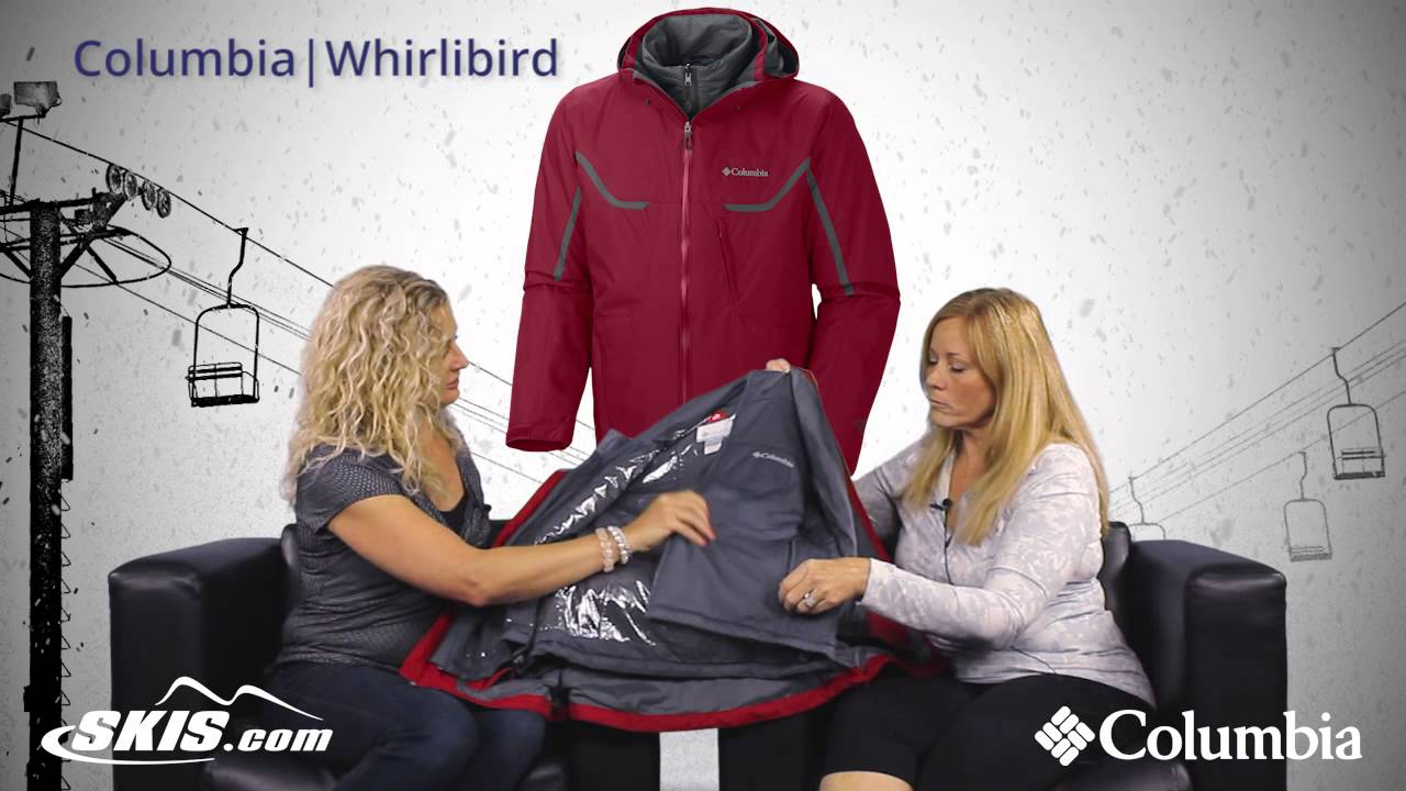 a53bd9b7d954 2016 Columbia Whirlibird Mens Jacket Overview by SkisDotCom - YouTube