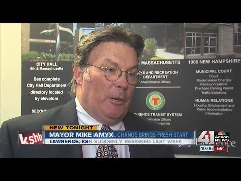 Lawrence's new mayor looks to establish trust