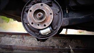 Замена заднего тормозного цилиндра BMW E36. Replacing the rear brake cylinder BMW e36