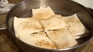 Cinnamon Apple Enchiladas