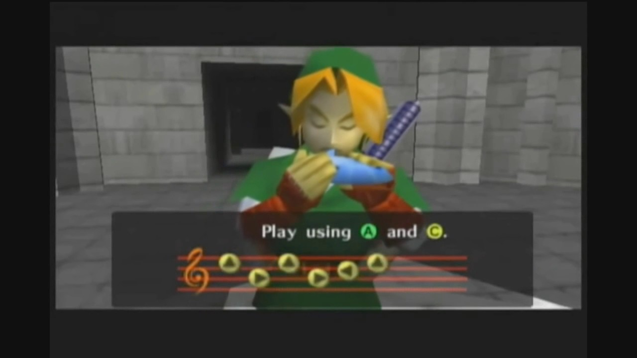 Zelda Ocarina of Time meme