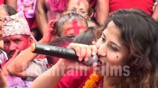 Live Program By Priya Bhandari प्रिया भण्डारी ले यसारी नचाईन तरुनी तन्नेरी लाई